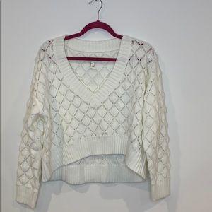 Forever21 Crochet Sweater